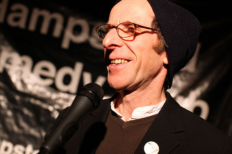 Small Exhibition Stand Up Comedy : Interview with stand up ivor dembina mule